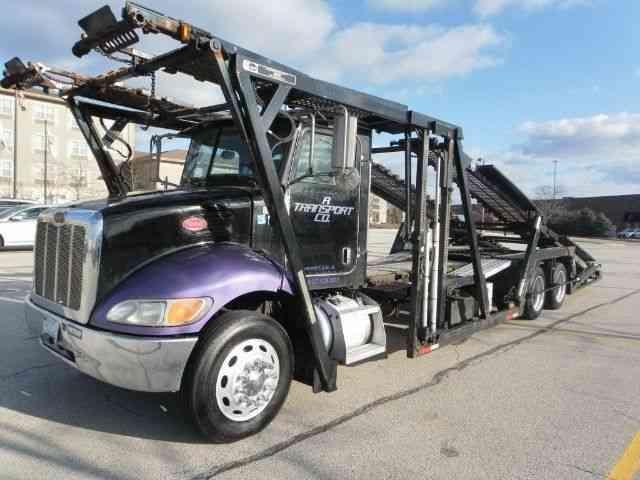 Peterbilt 335 2006 flatbeds rollbacks for Missouri motor carrier services