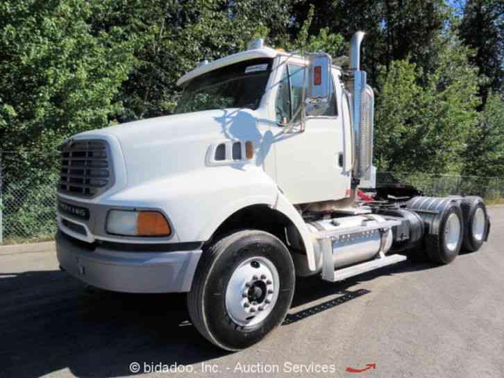 Heavy Truck Pto : Sterling a  daycab semi trucks