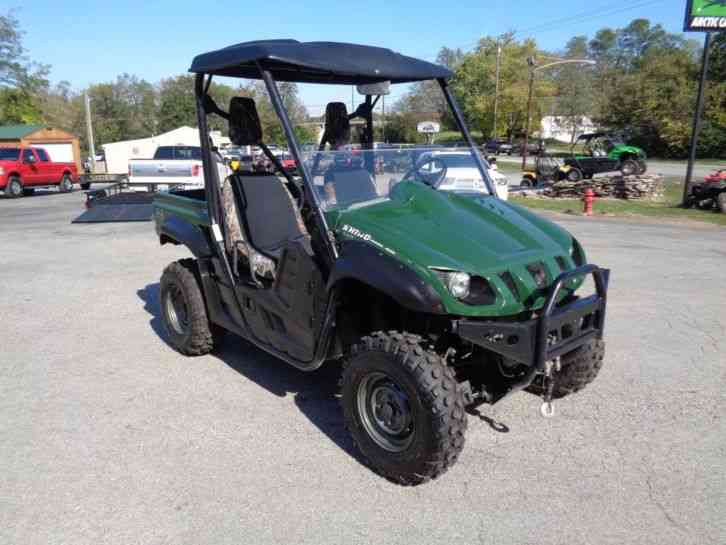 Yamaha rhino 660 auto 4x4 2006 utility service for 2006 yamaha grizzly 660 value