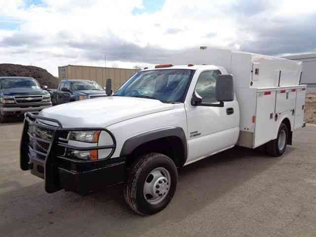 chevrolet 3500 service utility truck duramax diesel 2007 utility service trucks. Black Bedroom Furniture Sets. Home Design Ideas