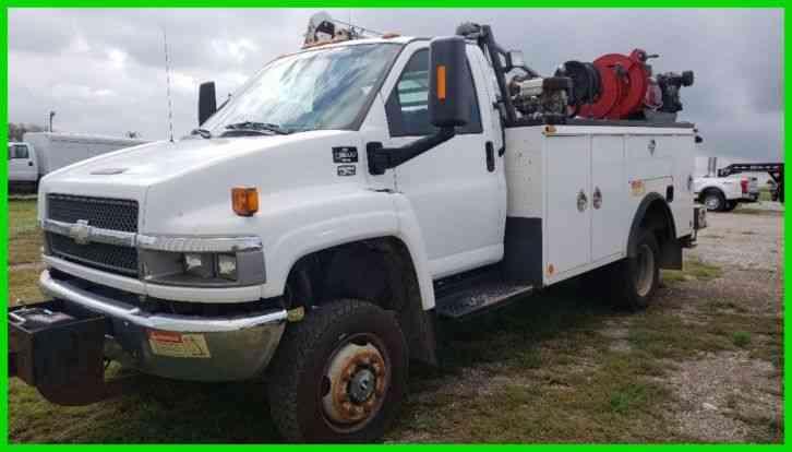 Chevrolet C5500 4x4 4wd Diesel 2007 Utility Service Trucks