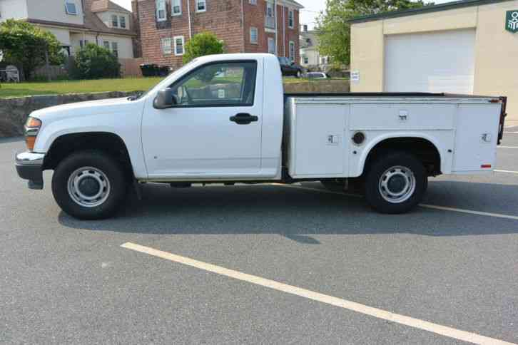 Used Trucks For Sale In Ma >> Chevrolet Colorado (2007) : Utility / Service Trucks