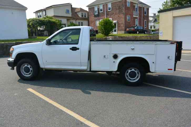 6 Door Truck For Sale Used >> Chevrolet Colorado (2007) : Utility / Service Trucks