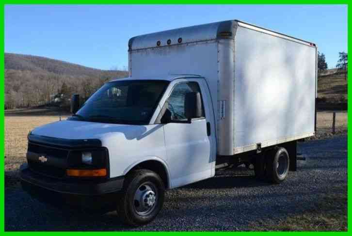 Chevrolet G3500 12ft Box Truck Gvw Under 10k 2007 Van Box Trucks