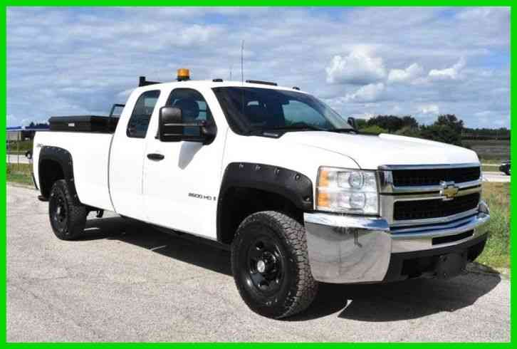 Chevrolet Silverado 2500HD (2007) : Utility / Service Trucks