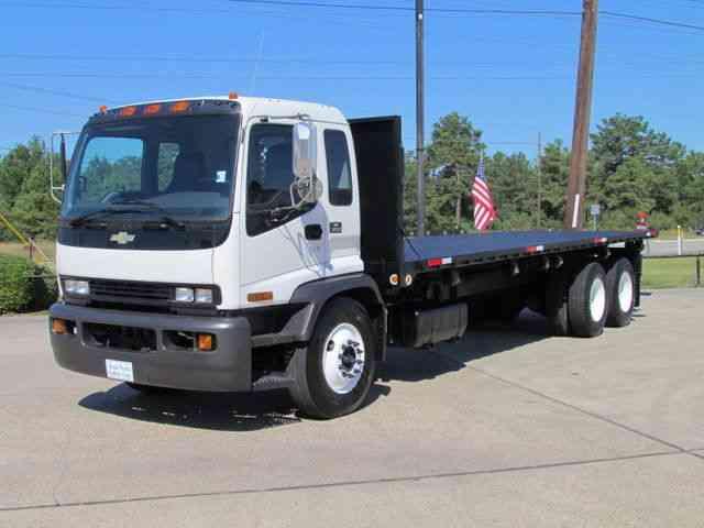 1 Ton Dump Body Manufacturers : Chevrolet t flatbed dump heavy duty trucks