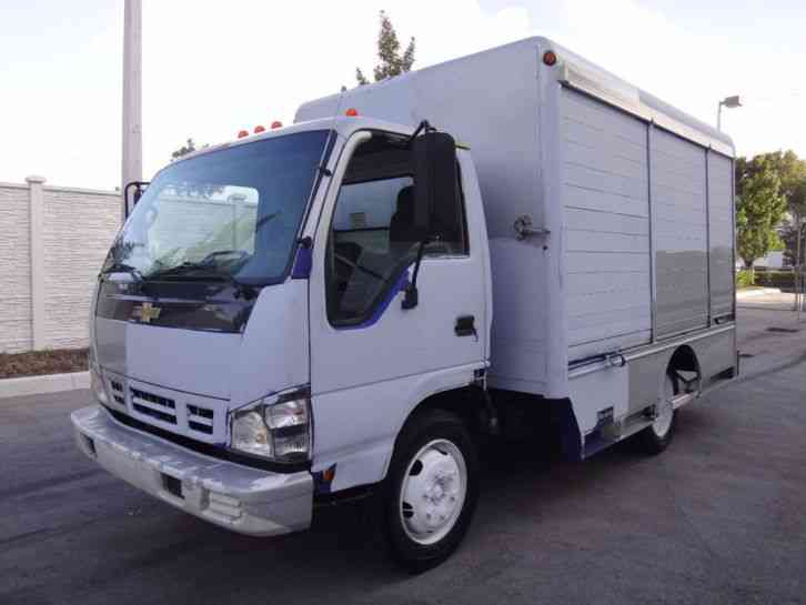 Chevrolet W5500 Beverage Delivery Truck 2007 Van Box