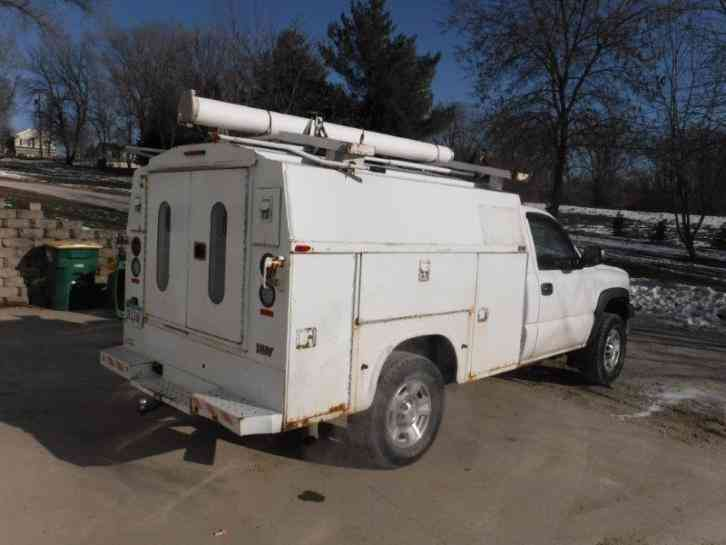 Class Iv Hitch >> Chevrolet 2500HD (2007) : Utility / Service Trucks