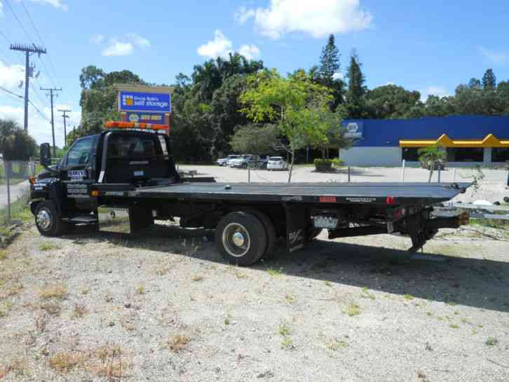 Chevrolet 5500 Roll Back Tow Truck (2007) : Flatbeds ...