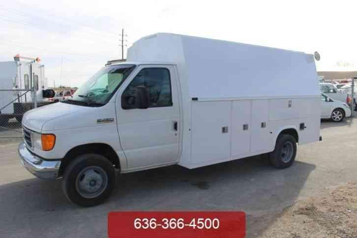Ford E350 2002 Utility Service Trucks