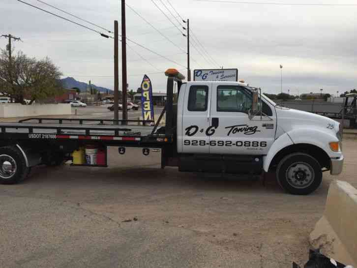 2007 Ford F 650 Rollback Tow Truck Flatbed Truck Upcomingcarshq Com