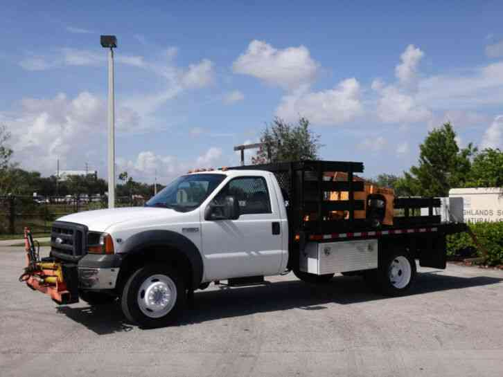 Ford F450 Super Duty Auger Truck (2007)