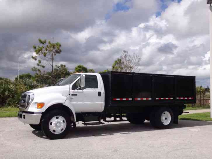 Ford F650 Super Duty 16ft Enclosed Box Flatbed (2007)