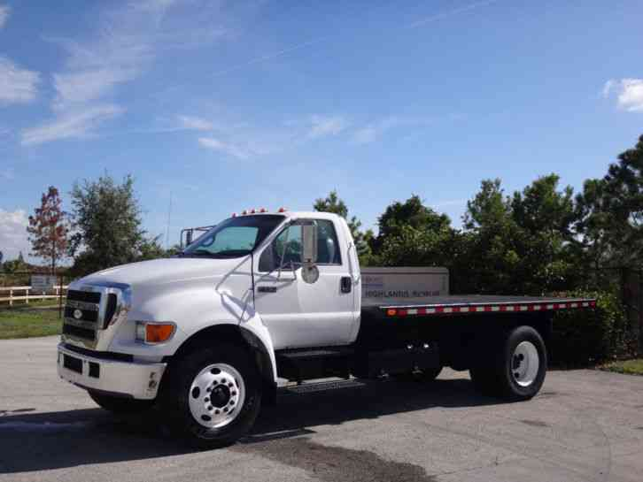 Ford F750 Super Duty Flatbed (2007)
