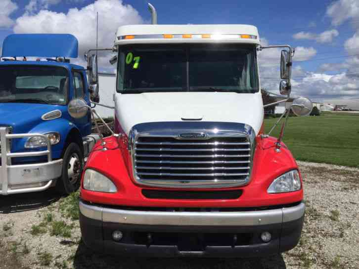 Freightliner columbia 112 2007 sleeper semi trucks - 2007 freightliner columbia interior ...