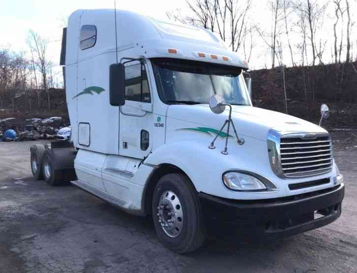 Freightliner columbia 2007 sleeper semi trucks - 2007 freightliner columbia interior ...