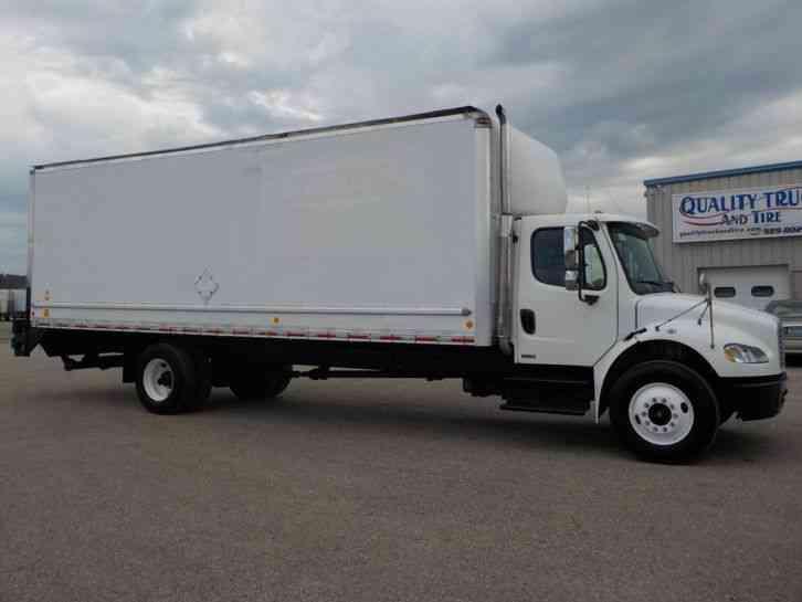 Freightliner M Box Truck on Mercedes Mbe 900 Engine
