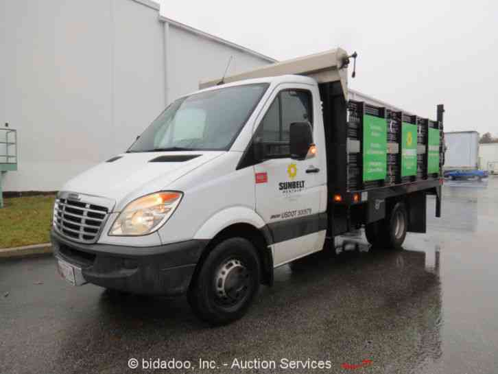 Dodge 4500 2014 utility service trucks for Mercedes benz sprinter 2500 vs 3500