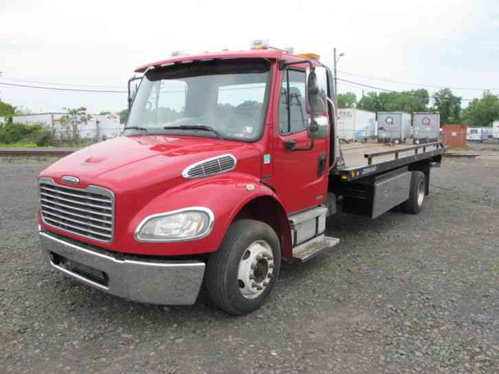 Freightliner m2 106 medium duty 2007 flatbeds rollbacks for Freightliner mercedes benz