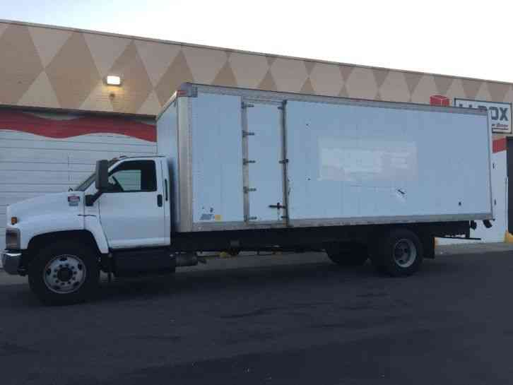 Gmc C6500 2007 Van Box Trucks
