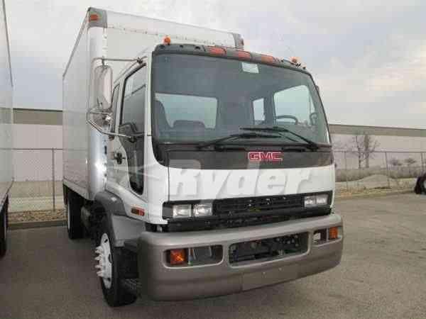 Gmc t7500 2007 van box trucks