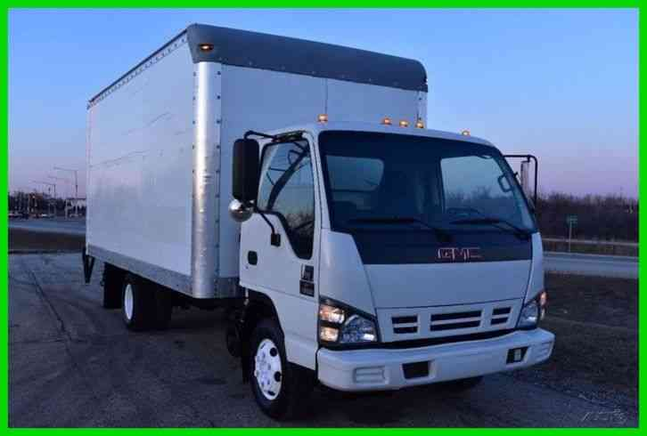 GMC W4500 16 Foot Box Truck Diesel (2007)
