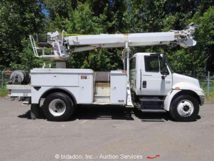 International 4300 2007 Utility Service Trucks