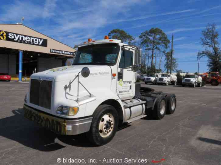international 9200i 2007 daycab semi trucks rh jingletruck com international 9200i service manual 2013 International 9200I