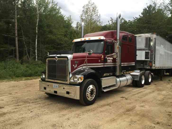 Used 18 Wheelers For Sale >> INTERNATIONAL 9900i EAGLE (2007) : Sleeper Semi Trucks