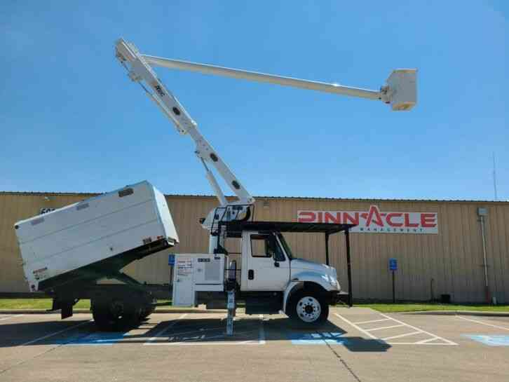 International DT466 ALTEC BUCKET TRUCK (2007)