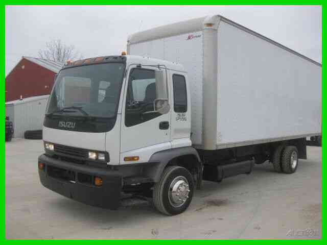 ISUZU FTR 7. 8L DIESEL ALLISON WITH 24' VAN BODY (2007)