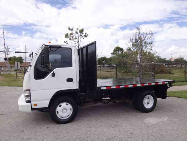 Flatbed Tow Truck >> Isuzu NPR 10ft Flatbed (2007) : Light Duty Trucks