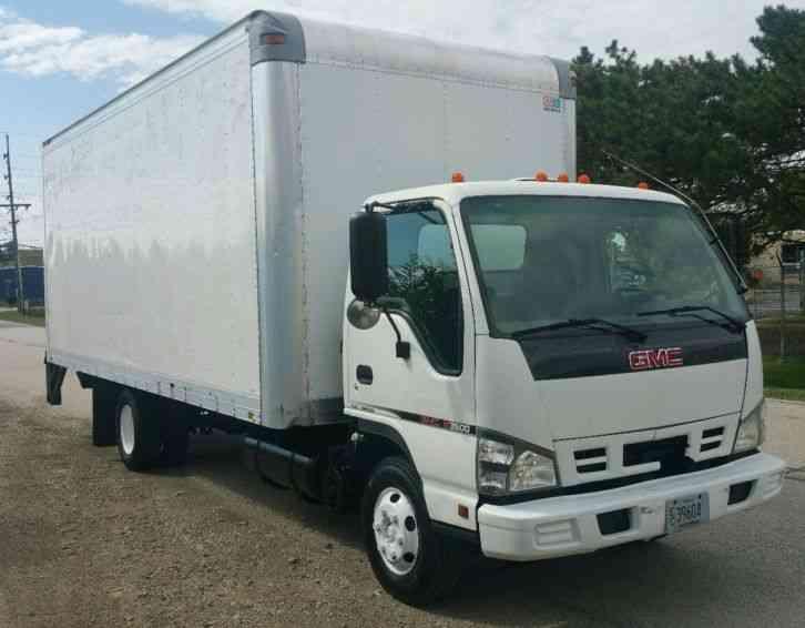 Gmc Cutaway 16 Ft Box Tk 2007 Van Box Trucks