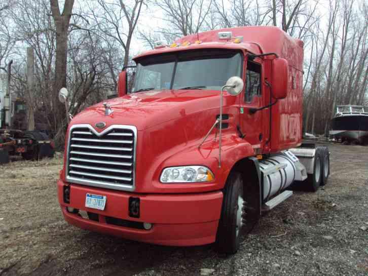Mack Truck Wet Kit : Mack cx sleeper semi trucks
