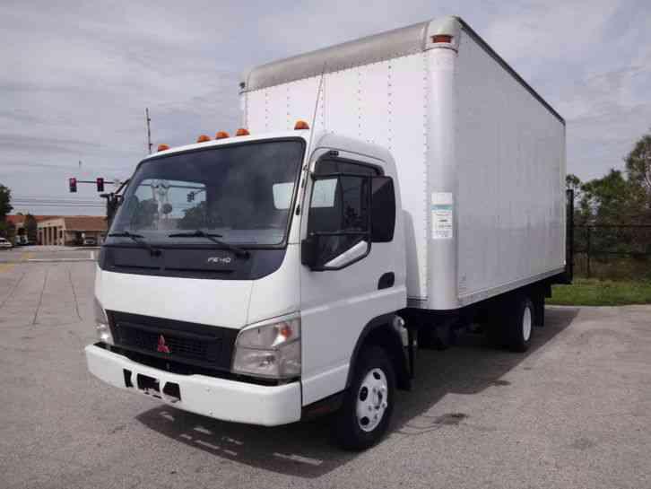 Mitsubishi Fuso Fe140 Landscape Box Truck 2007 Van