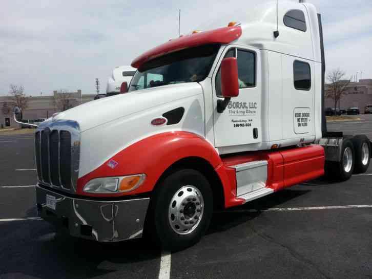 Semi Truck Control Panel : Peterbilt sleeper semi trucks