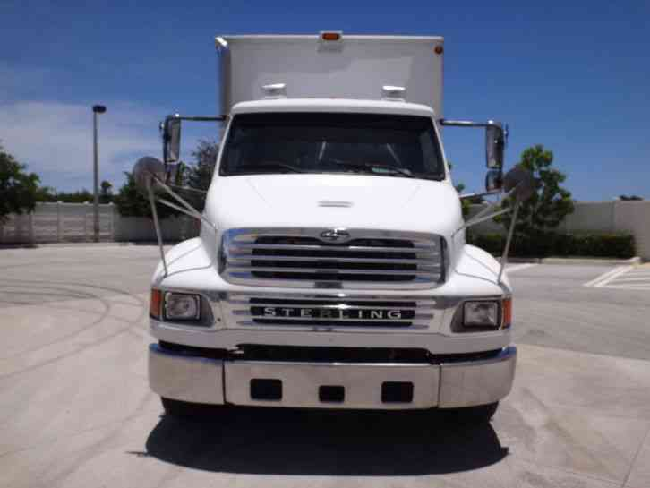 Sterling Acterra 6500 Shredder Truck 2007 Van Box Trucks