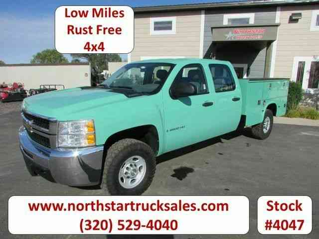 Chevrolet 2500HD 4x4 Crew-Cab Service Utility Truck -- (2008)