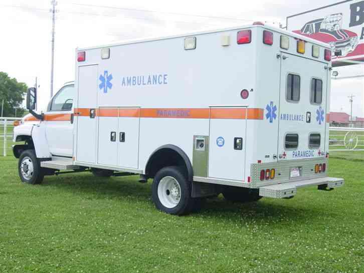 4X4 Van For Sale >> Chevrolet Kodiak K4500 (2008) : Emergency & Fire Trucks
