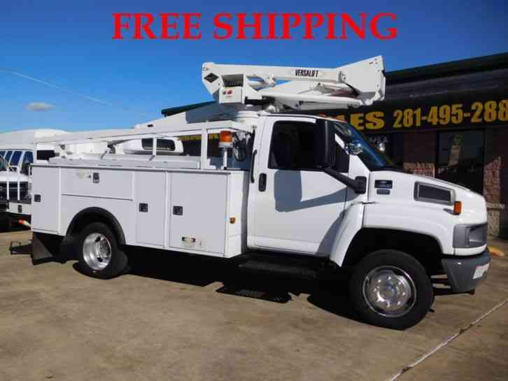 CHEVROLET C4500 UTILITY BODIES WITH BUCKET/BOOM TRUCK 6. 6L (2008)