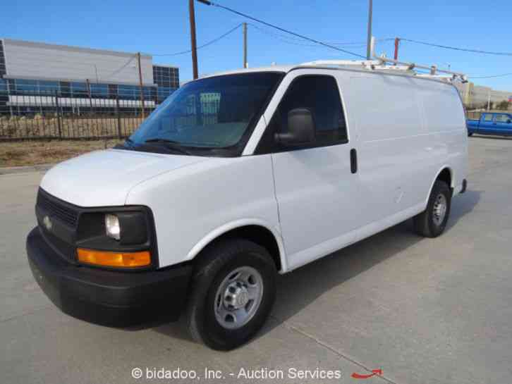 chevrolet express 2500 2008 van box trucks. Black Bedroom Furniture Sets. Home Design Ideas