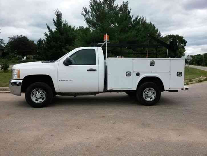 Old Chevrolet Pickups >> Chevrolet 2500HD 4X4 (2008) : Utility / Service Trucks