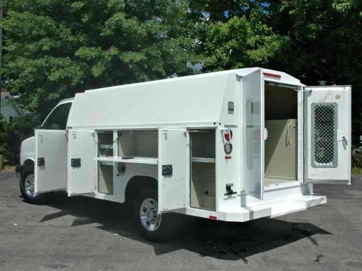 chevrolet kuv service utility van 2008 utility service trucks. Black Bedroom Furniture Sets. Home Design Ideas