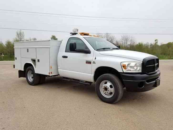 Dodge 3500 Hd 4x4 2008 Utility Service Trucks