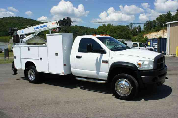 utility service trucks deals offers dodge. Black Bedroom Furniture Sets. Home Design Ideas