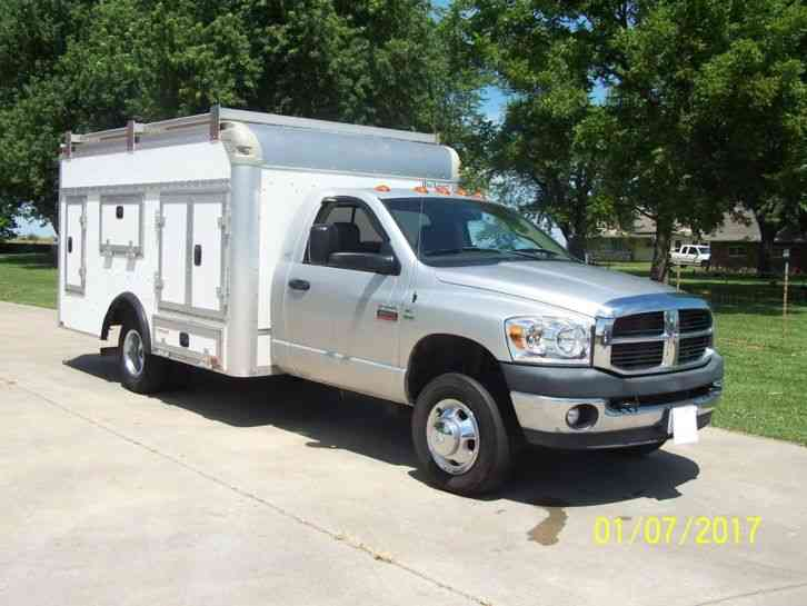 dodge dodge slt 3500 2008 utility service trucks. Black Bedroom Furniture Sets. Home Design Ideas