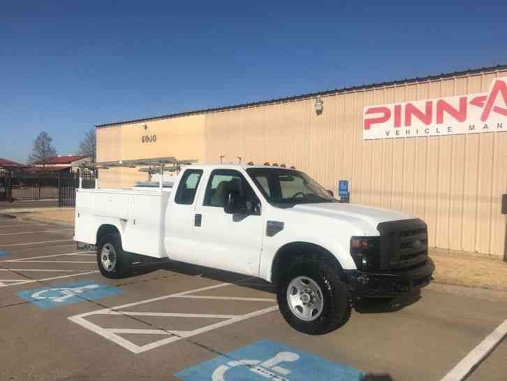 Ford SERVICE TRUCK F350 EXT CAB SERVICE TRUCK (2008)