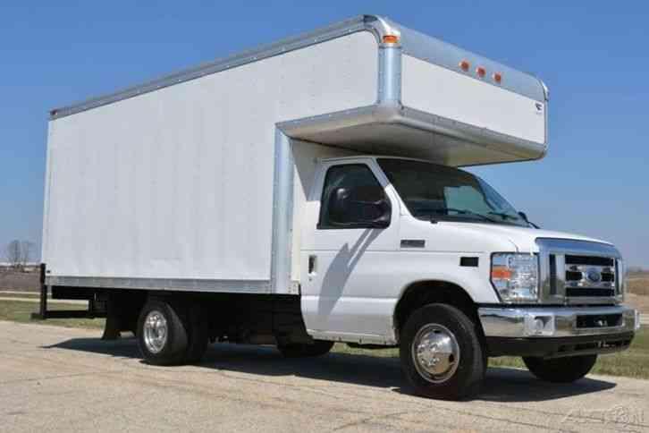 ford e 350 cutaway 2008 van box trucks. Black Bedroom Furniture Sets. Home Design Ideas