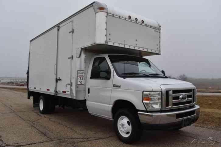 Ford E-450 Cutaway (2008) : Van / Box Trucks