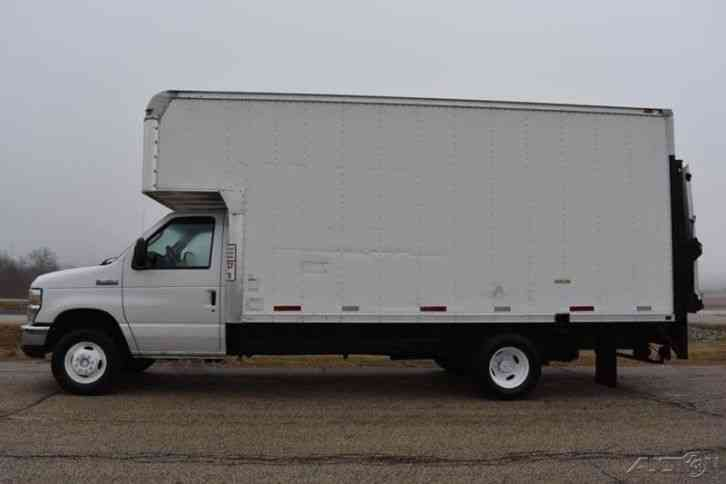 Ford E 450 Cutaway 2008 Van Box Trucks